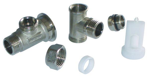 Внешнее подключение для однотрубного вентиля состоит из: арт. 30 - 31 - 32 - 33 - 34 -35.